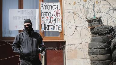 How will U.S. respond if Ukraine conflict doesn't improve?