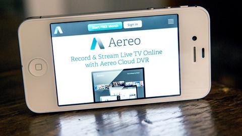 PBS NewsHour -- Justices consider future of TV and copyright in Aereo case