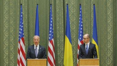 Biden urges Russia to 'stop talking and start acting'
