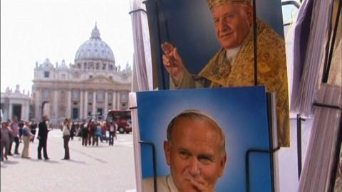 PBS NewsHour -- Vatican poised to canonize two popes