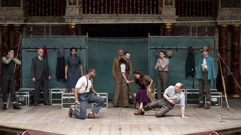 PBS NewsHour -- All the world's a stage at Shakespeare's 450th anniversary