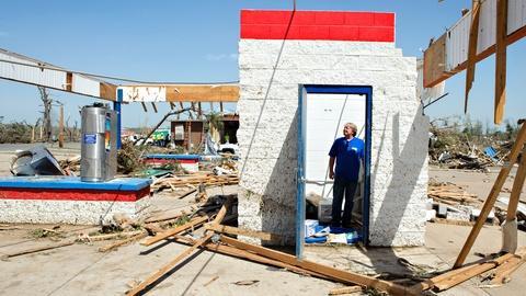 PBS NewsHour -- Arkansas residents push ahead in wake of tornado damage