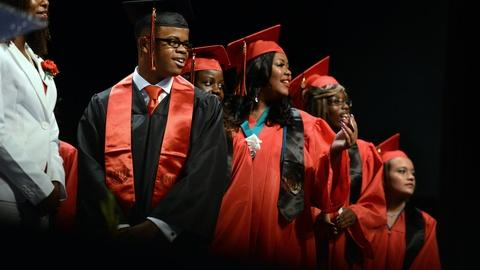 PBS NewsHour -- What's driving gains in high school graduation rates?