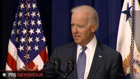 PBS NewsHour -- Biden announces guidelines to prevent college sex assault