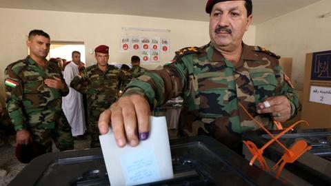 PBS NewsHour -- Approaching elections, Iraq faces violence and division