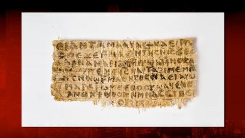 PBS NewsHour -- Ancient document referencing Jesus' wife may be a forgery