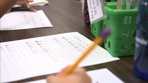 PBS NewsHour -- Why some schools still insist on lessons in elegant cursive