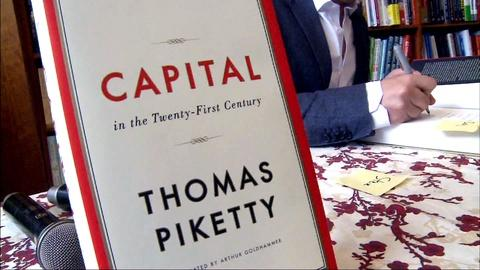 PBS NewsHour -- French economist Piketty takes on inequality in 'Capital'