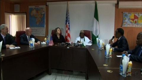 PBS NewsHour -- U.S. sends plane to scan for Nigeria's abducted girls