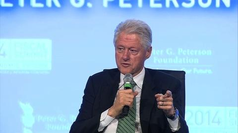PBS NewsHour -- Bill responds to accusation that Hillary has brain damage