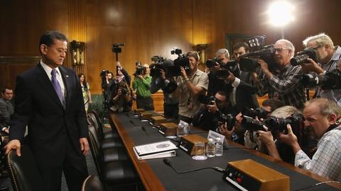 PBS NewsHour -- Veterans Affairs secretary grilled by Senate panel