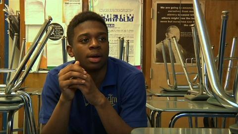 PBS NewsHour -- Is integration important to today's high school students?