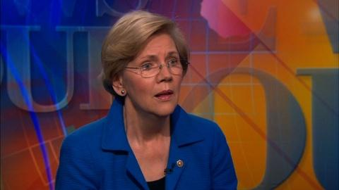 PBS NewsHour -- Sen. Warren on 'A Fighting Chance' for every American