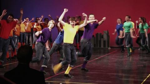 PBS NewsHour -- Broadway Bound student-dancers perform 'Fabulous Feet'