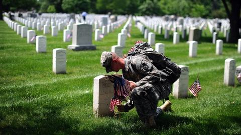 PBS NewsHour -- Americans honor sacrifice of fallen servicemembers
