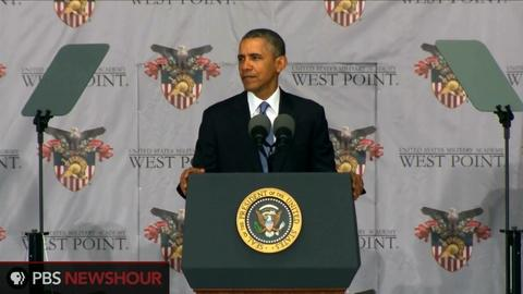 PBS NewsHour -- Watch Obama's commencement address at West Point