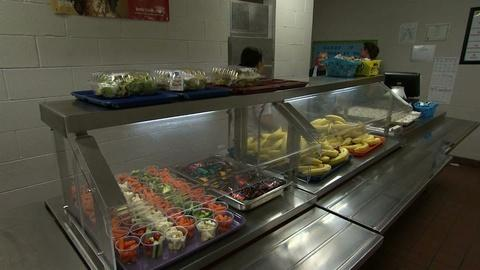 PBS NewsHour -- Political fight simmers over school lunch menu changes