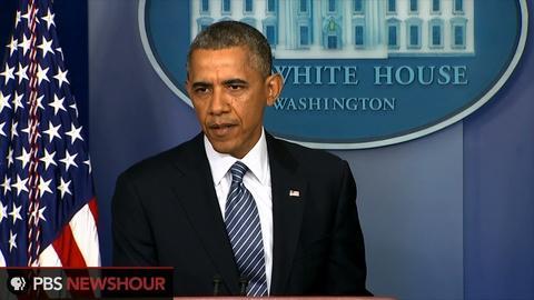 PBS NewsHour -- President Obama accepts VA Secretary Shinseki's resignation