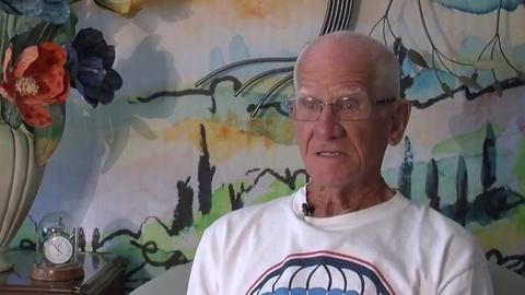 PBS NewsHour -- D-Day veteran recalls moment he jumped over Normandy