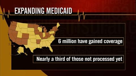 PBS NewsHour -- Drama over Medicaid expansion continues in some states