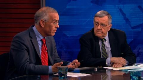 PBS NewsHour -- Shields and Brooks on Iraq crisis, Cantor's defeat