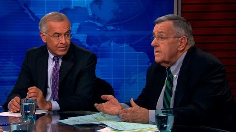 PBS NewsHour -- Shields and Brooks on U.S. intervention in Iraq
