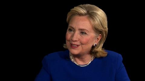 PBS NewsHour -- Clinton sees America from new focal length