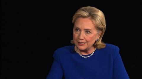 PBS NewsHour -- Hillary Clinton talks 'Hard Choices' and battle scars