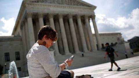 PBS NewsHour -- Supreme Court limits cell phone searches, TV signal sharing