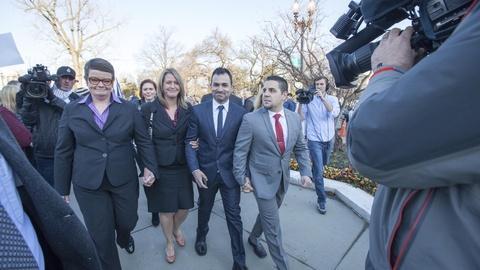 PBS NewsHour -- Plaintiffs meets the media