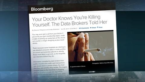 PBS NewsHour -- Hospitals turning to data brokers for patient information