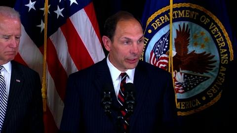 PBS NewsHour -- Obama taps business executive to oversee troubled VA