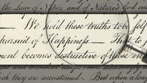 PBS NewsHour -- Finding empowerment in the words of our founding fathers