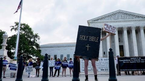PBS NewsHour -- Birth control ruling draws dissent from female justices