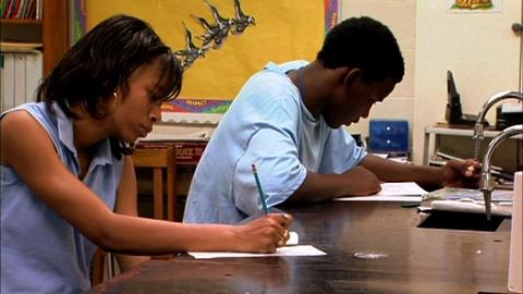 PBS NewsHour -- Exam tests students using real-life situations