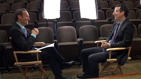 PBS NewsHour -- John Oliver on British Culture, Downton Abbey