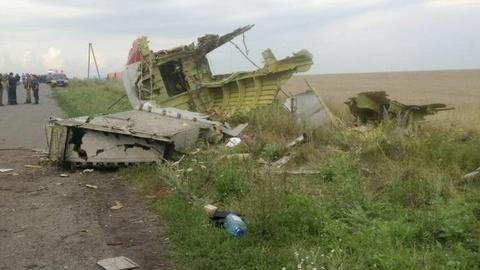 PBS NewsHour -- Did Russia destroy evidence of the crashed MH17?