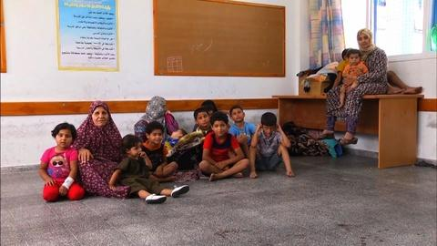 PBS NewsHour -- 'No safe places' for children in Gaza, UNICEF officer says