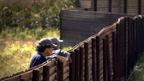 PBS NewsHour -- Pushing for better Border Patrol staffing, not troops
