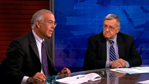 PBS NewsHour -- Shields and Brooks on the border crisis, Mideast violence