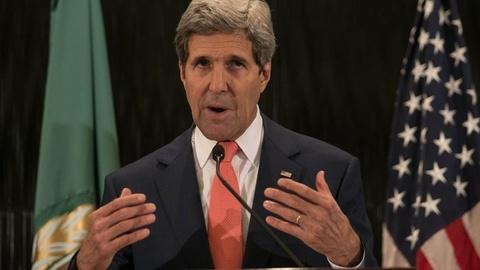 PBS NewsHour -- Rice: U.S. still 'critical player' in Mideast resolution