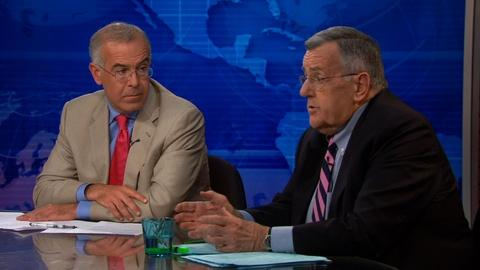 PBS NewsHour -- Shields and Brooks on Iraq reluctance, Nixon's legacy