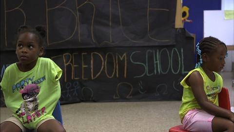 PBS NewsHour -- Need persists for new generation of Freedom Schools
