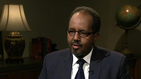 PBS NewsHour -- Somalia's president on challenges to building democracy