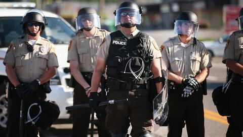 PBS NewsHour -- Why doesn't Ferguson's police force reflect the community?