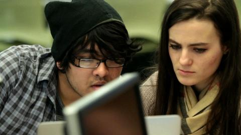 PBS NewsHour -- Can online courses replace a campus education?