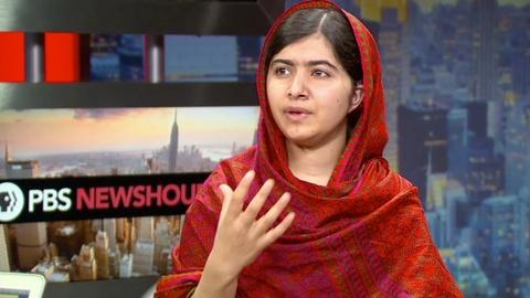 PBS NewsHour -- Malala: Children around the world should fight for education