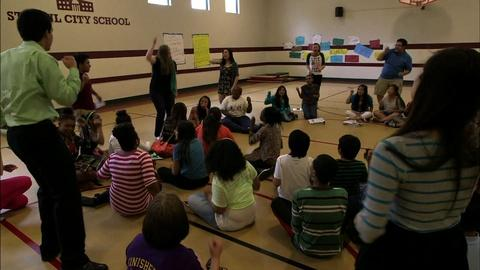 PBS NewsHour -- Motivating middle school students to apply for college