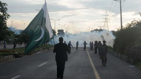 PBS NewsHour -- Why continued protests may curb Pakistan's democracy