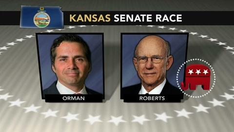 PBS NewsHour -- Can an Independent steal Kansas from the GOP?